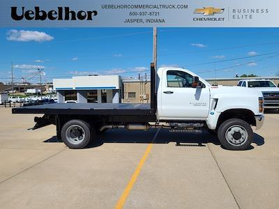 2021 Silverado 4500 Regular Cab DRW 4x4,  Monroe Truck Equipment Work-A-Hauler II Platform Body #ZT11756 - photo 1