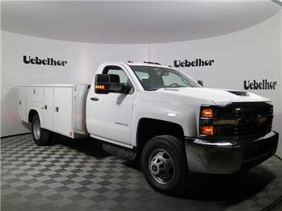 2018 Silverado 3500 Regular Cab DRW 4x4, Reading Classic II Steel Service Body #ZT146 - photo 3