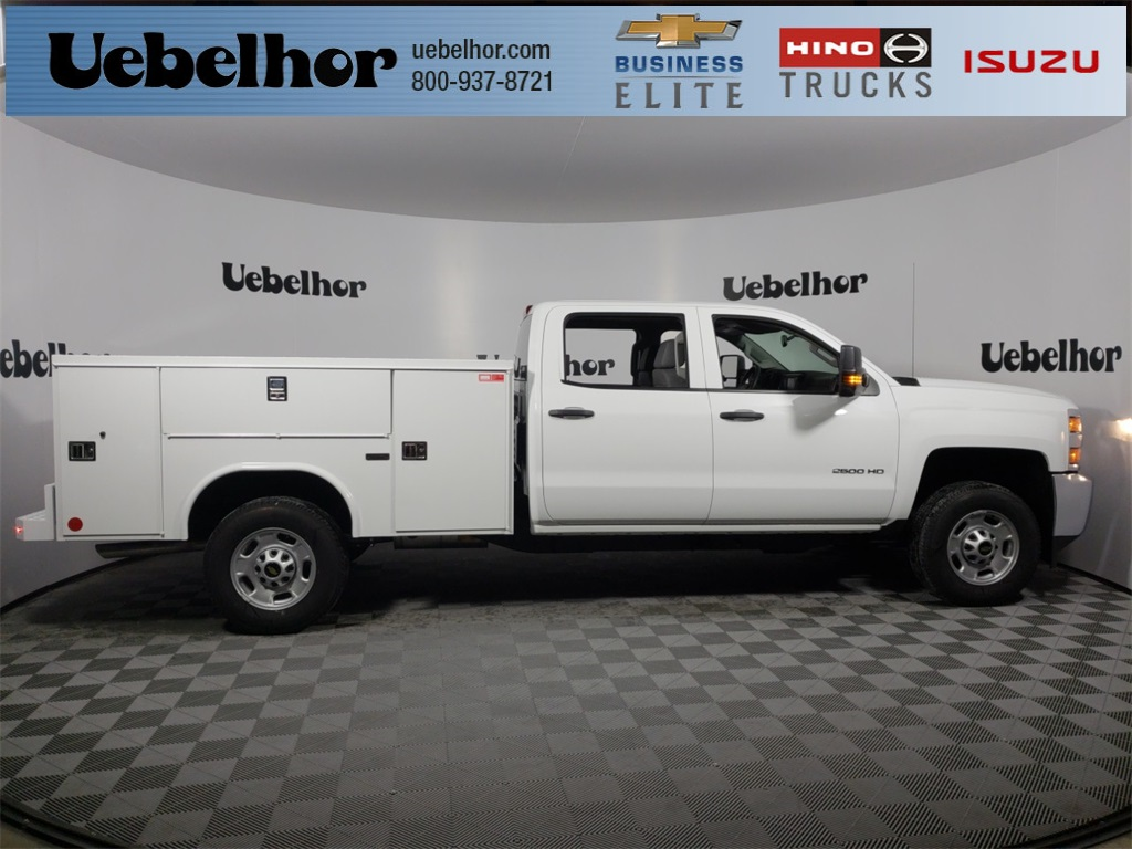 2018 Silverado 2500 Crew Cab 4x2,  Reading SL Service Body #ZT1718 - photo 1