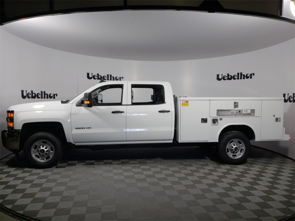 2018 Silverado 2500 Crew Cab 4x2,  Reading SL Service Body #ZT1718 - photo 5