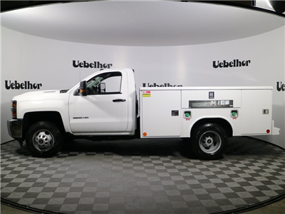 2018 Silverado 3500 Regular Cab DRW 4x2,  Reading Classic II Steel Service Body #ZT301 - photo 5