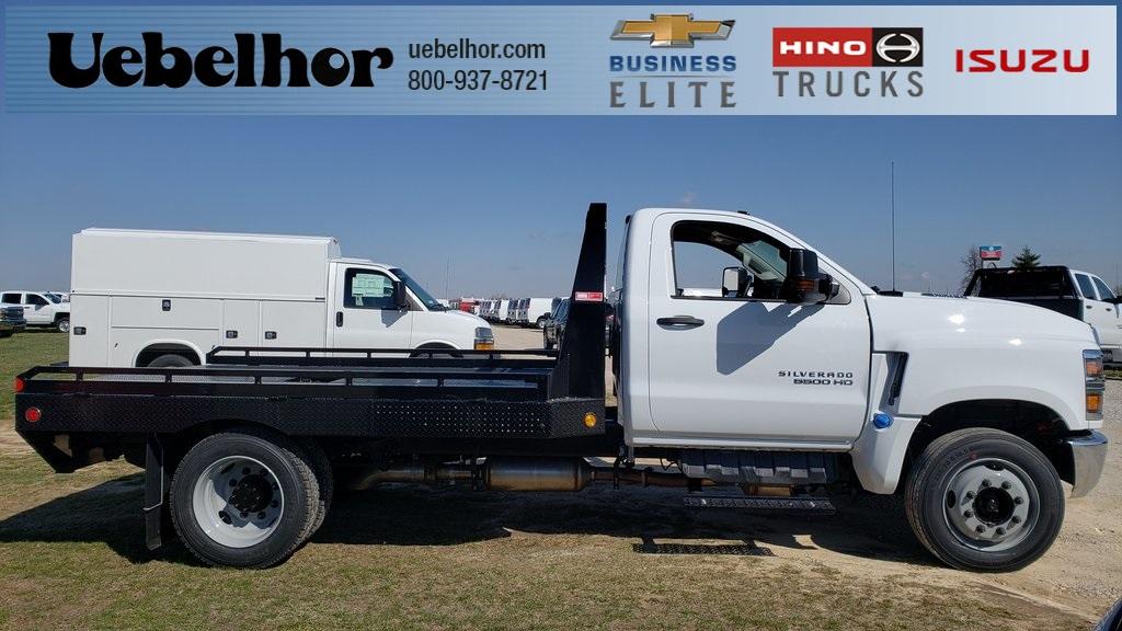 2019 Silverado 5500 Regular Cab DRW 4x2, Hillsboro GII Steel Platform Body #ZT4242 - photo 1