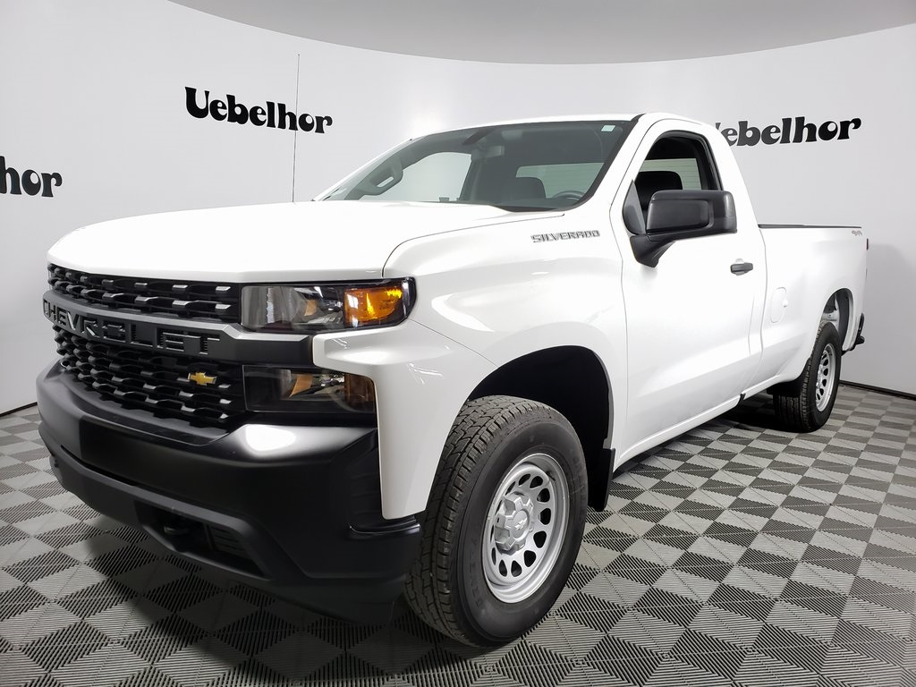 2019 Silverado 1500 Regular Cab 4x4, Pickup #ZT5928 - photo 1