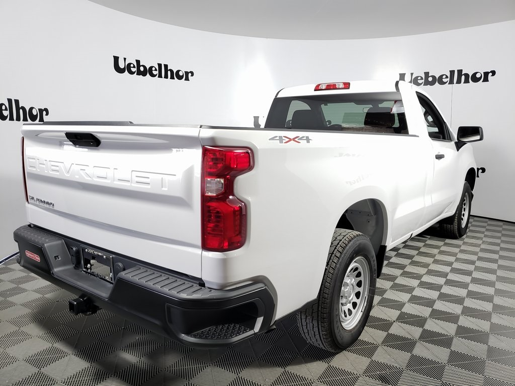 2019 Silverado 1500 Regular Cab 4x4, Pickup #ZT5928 - photo 4
