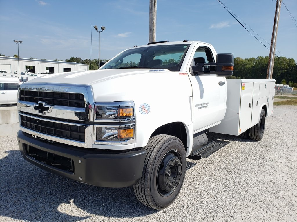2019 Silverado 4500 Regular Cab DRW 4x2, Reading Classic II Steel Service Body #ZT5955 - photo 4