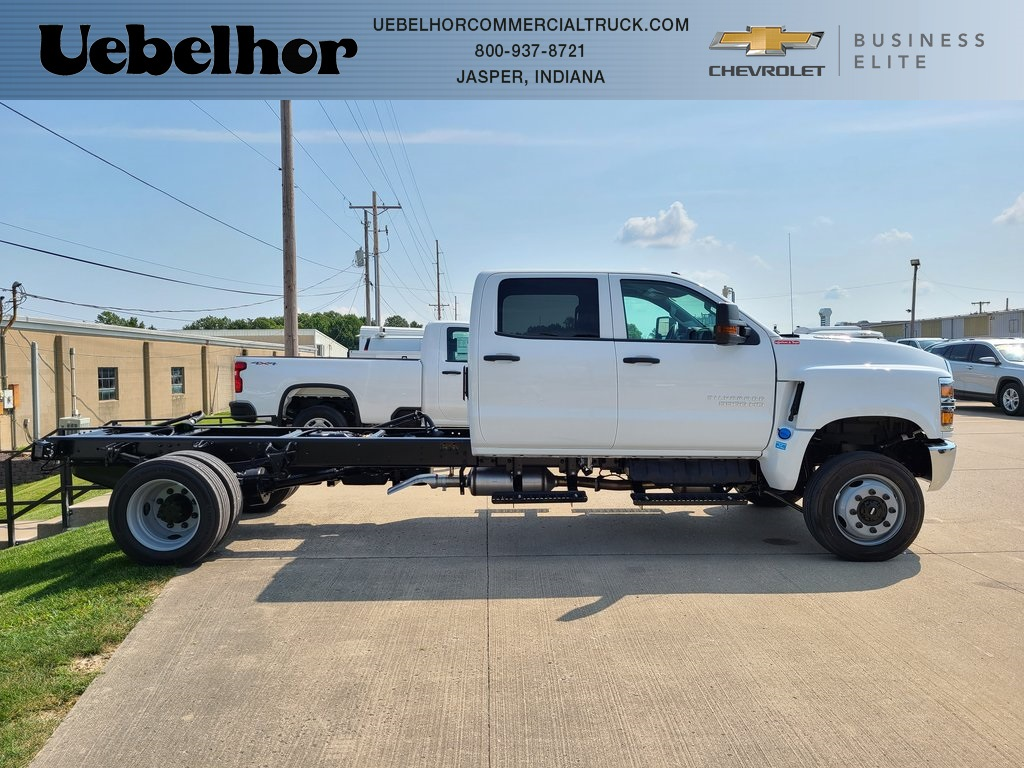 2019 Silverado 4500 Crew Cab DRW 4x4, Reading Classic II Steel Service Body #ZT6065 - photo 1
