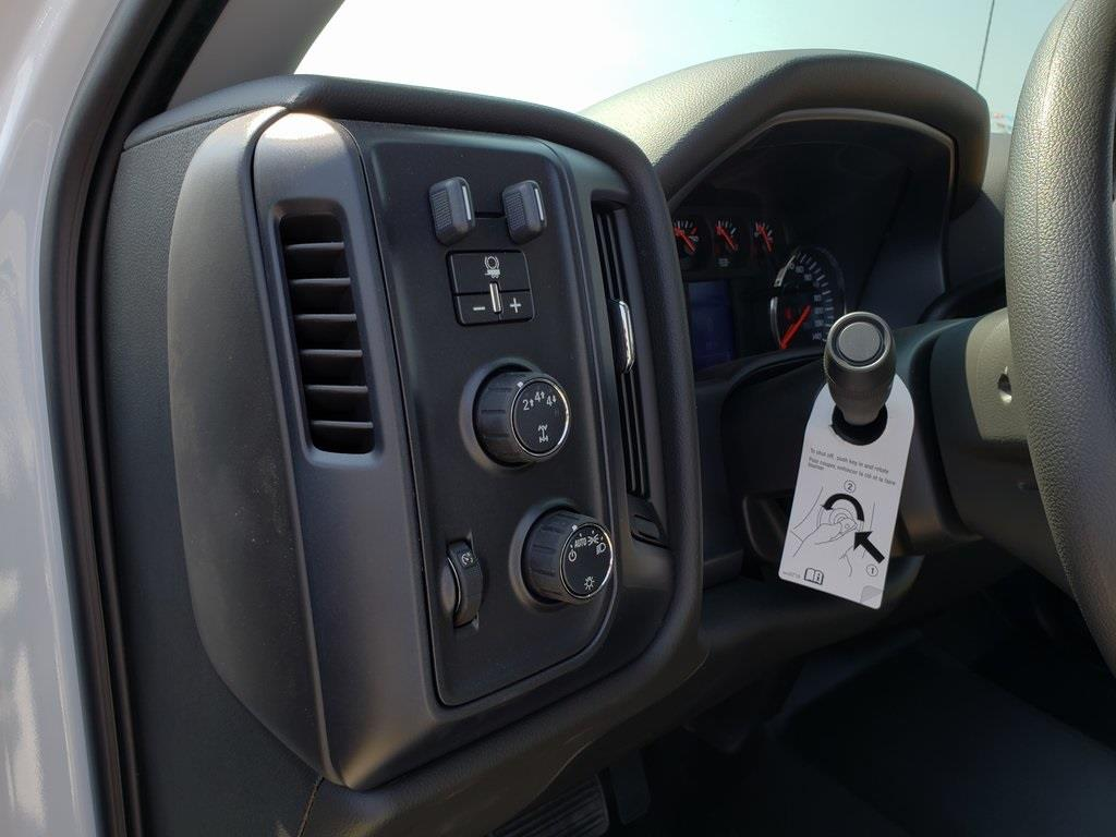 2019 Silverado 4500 Crew Cab DRW 4x4, Reading Classic II Steel Service Body #ZT6065 - photo 11