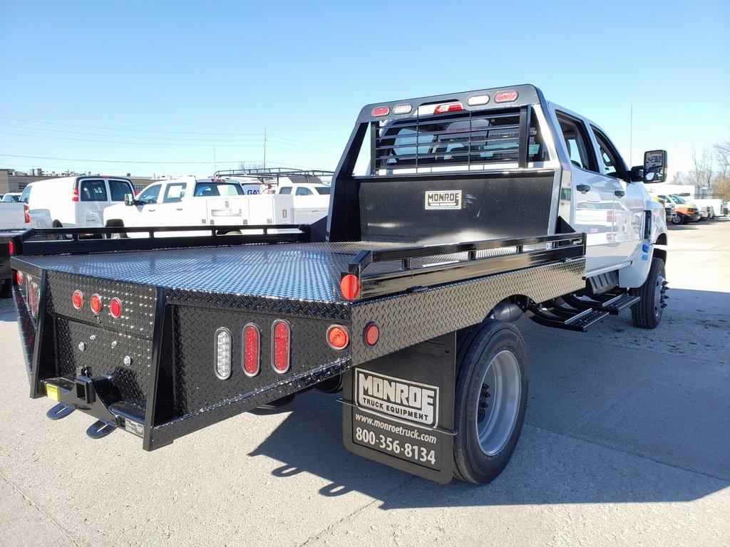 2019 Silverado 4500 Crew Cab DRW 4x4, Hillsboro GII Steel Platform Body #ZT6400 - photo 6