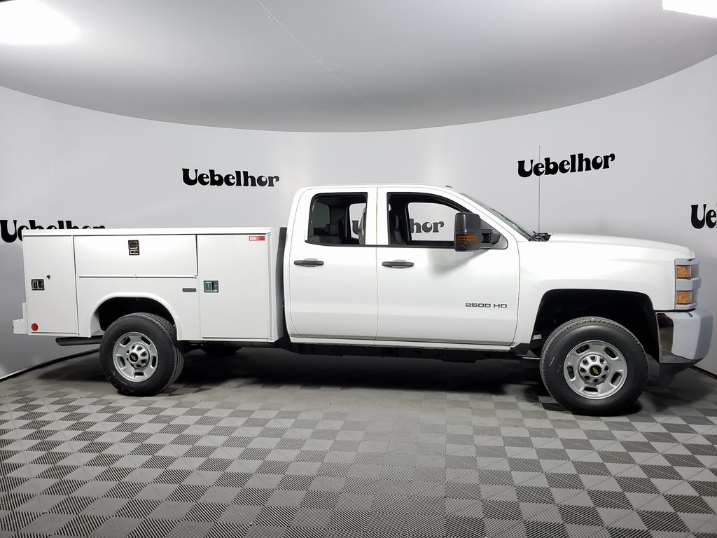 2019 Silverado 2500 Double Cab 4x2, Reading SL Service Body #ZT6481 - photo 1