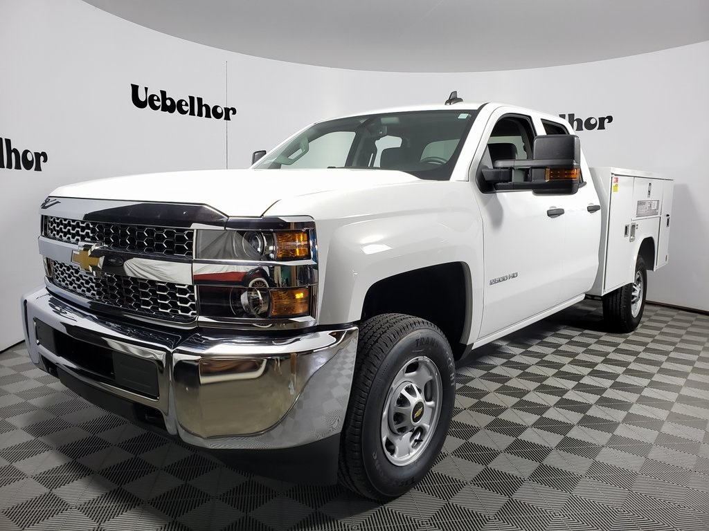 2019 Silverado 2500 Double Cab 4x2, Reading SL Service Body #ZT6973 - photo 3