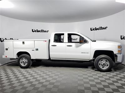 2019 Silverado 2500 Double Cab 4x2, Reading SL Service Body #ZT6973 - photo 1