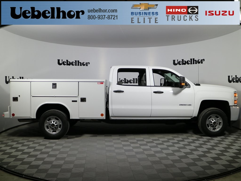 2018 Silverado 2500 Crew Cab 4x2,  Reading SL Service Body #ZT715 - photo 1