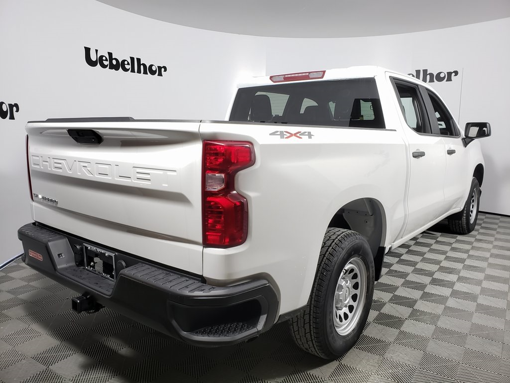 2020 Silverado 1500 Crew Cab 4x4, Pickup #ZT7157 - photo 4