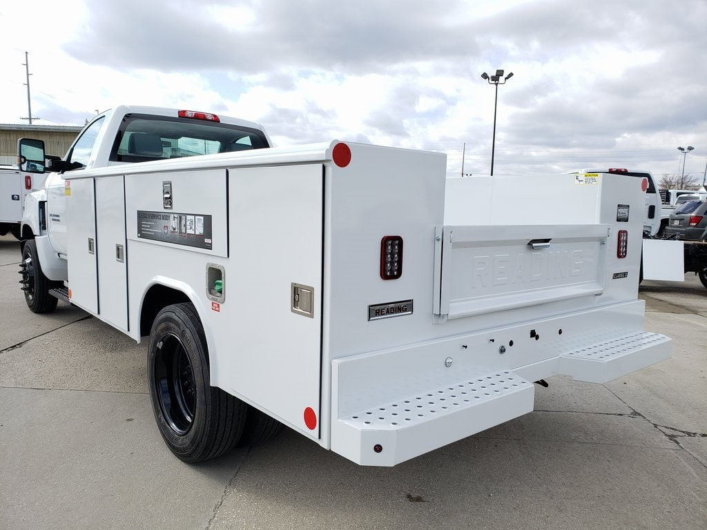 2019 Silverado 4500 Regular Cab DRW 4x2, Reading Classic II Steel Service Body #ZT7296 - photo 2