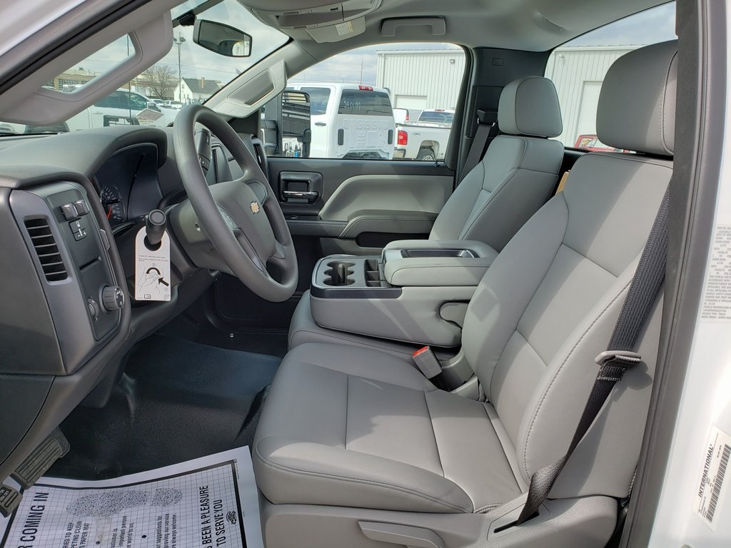 2019 Silverado 4500 Regular Cab DRW 4x2, Reading Classic II Steel Service Body #ZT7296 - photo 8
