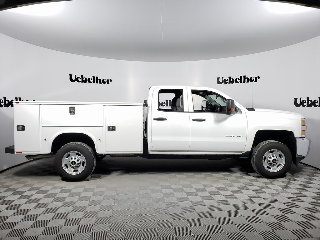 2019 Silverado 2500 Double Cab 4x2, Knapheide Steel Service Body #ZT7365 - photo 3