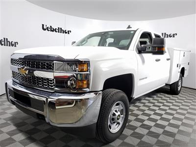 2019 Silverado 2500 Double Cab 4x2, Knapheide Steel Service Body #ZT7365 - photo 1