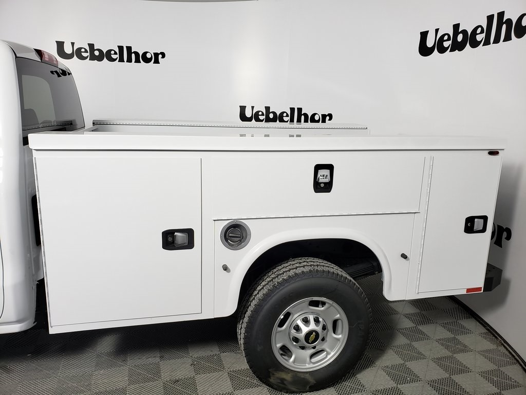2019 Silverado 2500 Double Cab 4x2, Knapheide Steel Service Body #ZT7394 - photo 5
