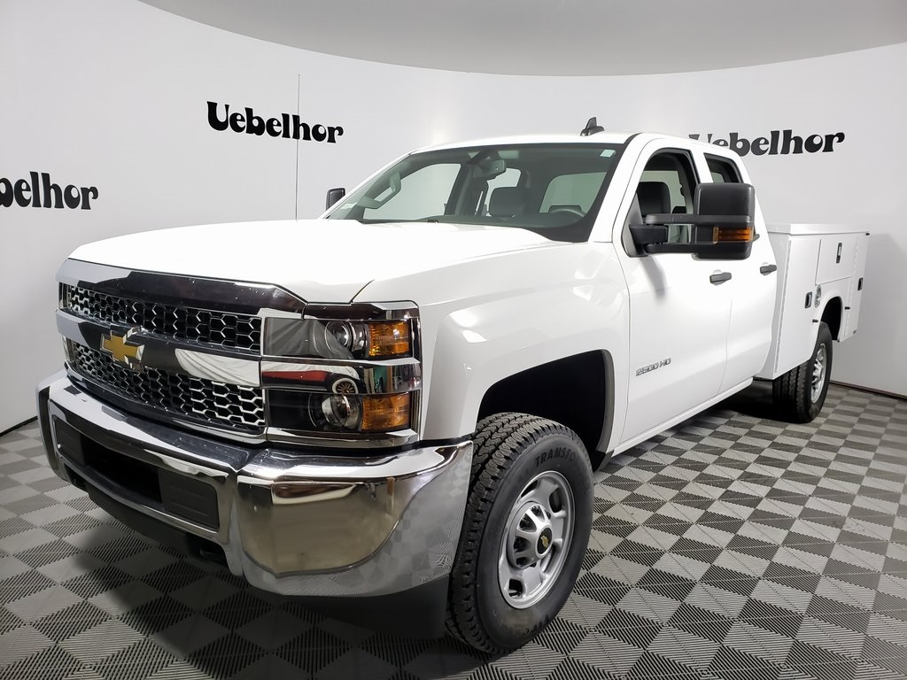 2019 Silverado 2500 Double Cab 4x2, Knapheide Steel Service Body #ZT7418 - photo 1
