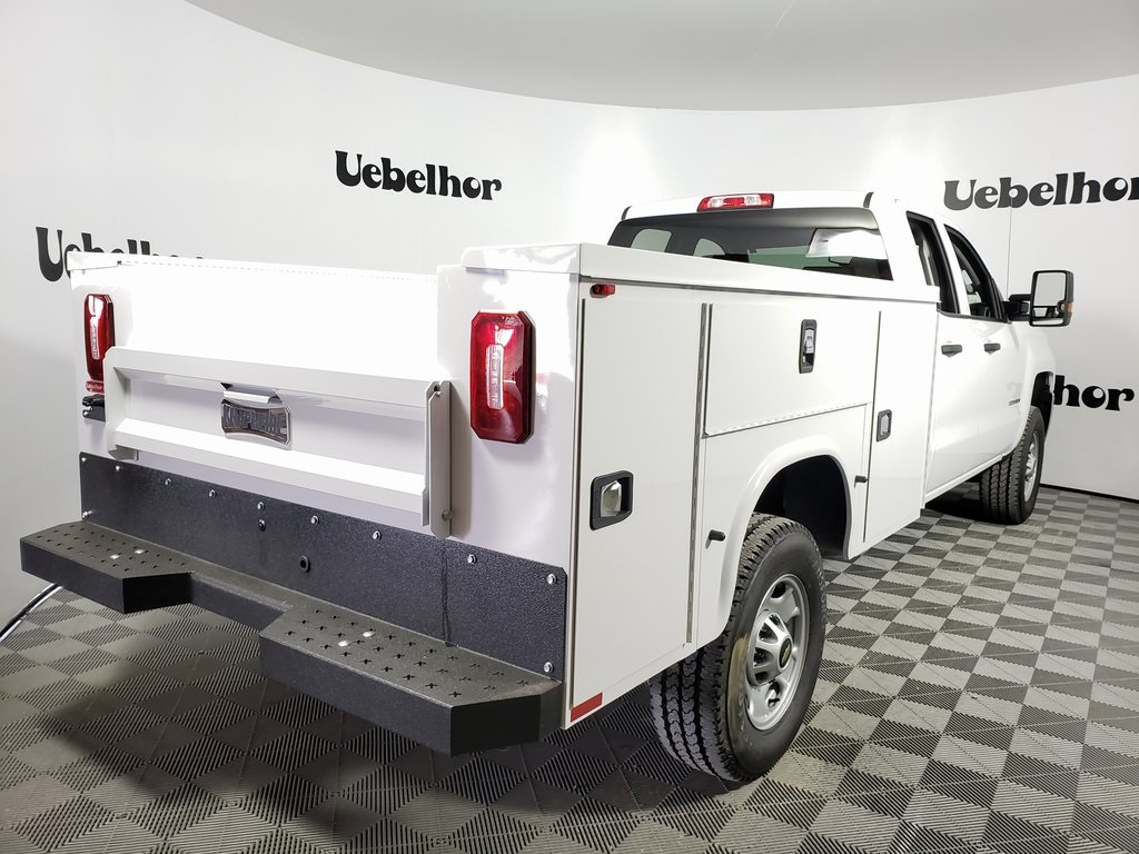 2019 Silverado 2500 Double Cab 4x2, Knapheide Steel Service Body #ZT7418 - photo 6