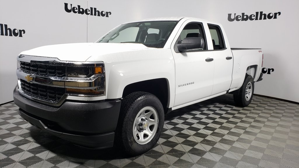 2019 Silverado 1500 Double Cab 4x4, Pickup #ZT7467 - photo 1
