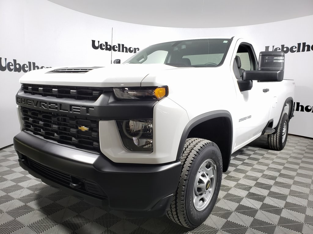 2020 Silverado 2500 Regular Cab 4x4, Pickup #ZT7564 - photo 1