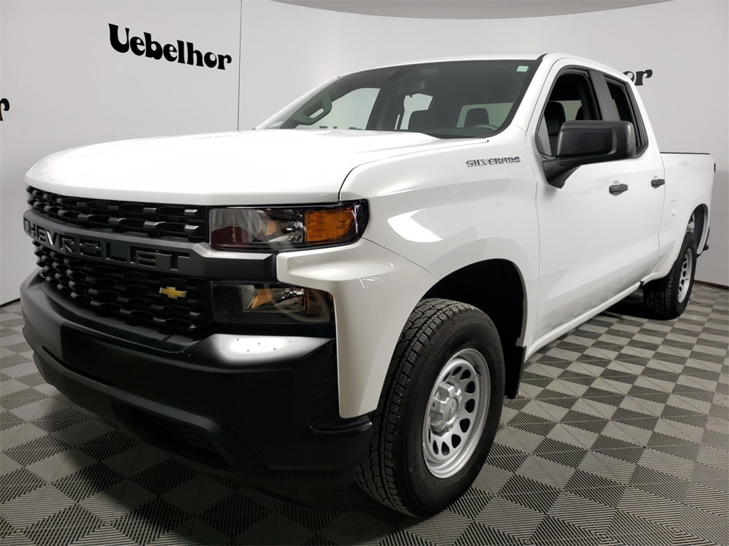 2020 Silverado 1500 Double Cab 4x2, Pickup #ZT7761 - photo 1