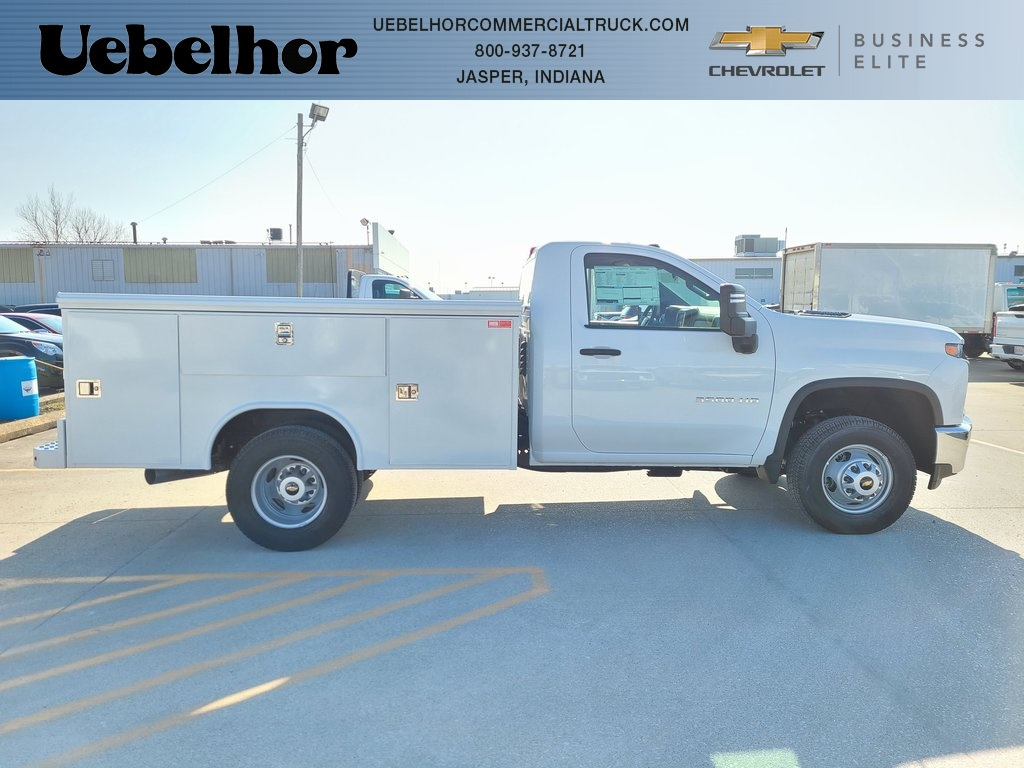 2020 Chevrolet Silverado 3500 Regular Cab DRW 4x4, Reading Service Body #ZT9235 - photo 1