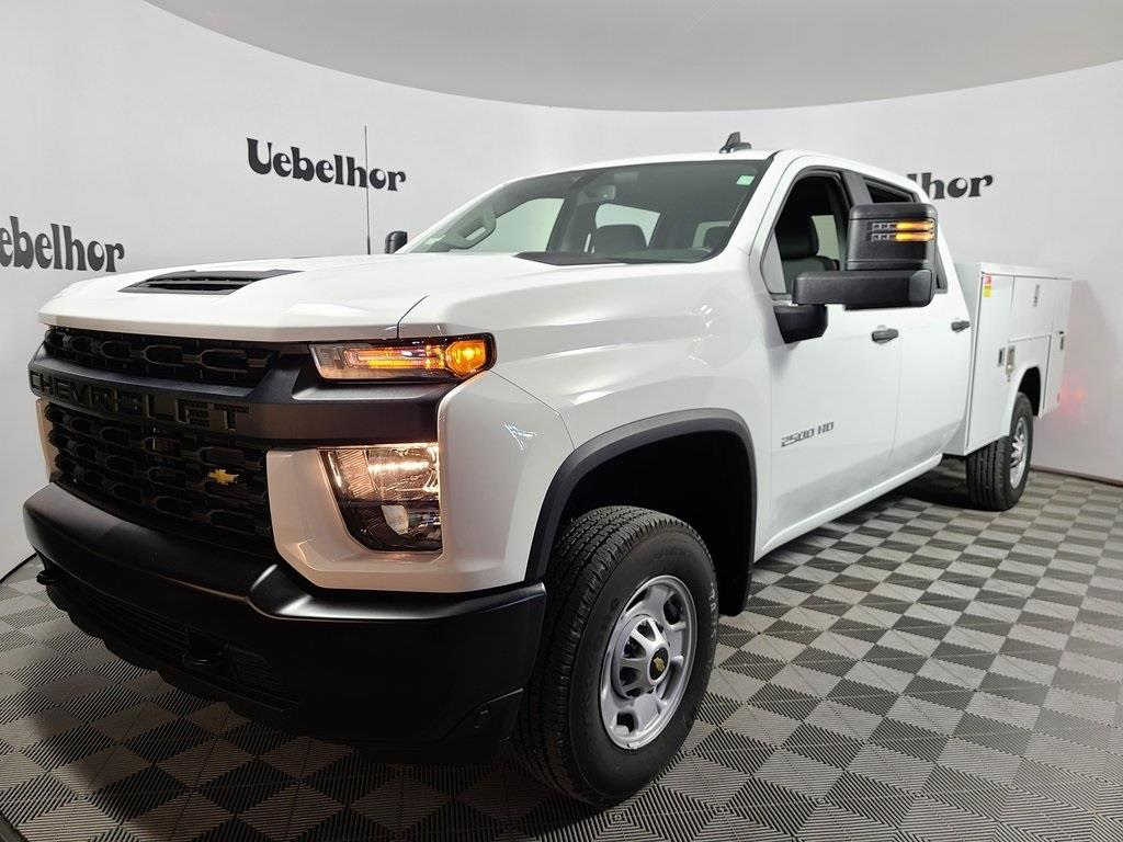 2020 Chevrolet Silverado 2500 Crew Cab 4x4, Reading Service Body #ZT9744 - photo 1