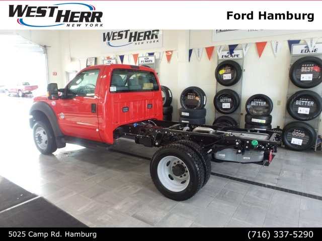 2016 F-550 Regular Cab DRW 4x4, Cab Chassis #FHF163387 - photo 2