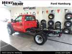 2016 F-550 Regular Cab DRW 4x4, Cab Chassis #FHF163387 - photo 1