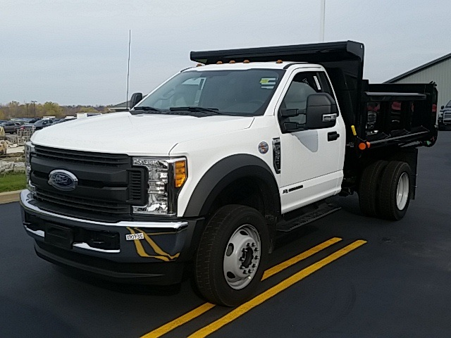 2017 F-550 Regular Cab DRW 4x4, Air-Flo Dump Body #FHF170935 - photo 4