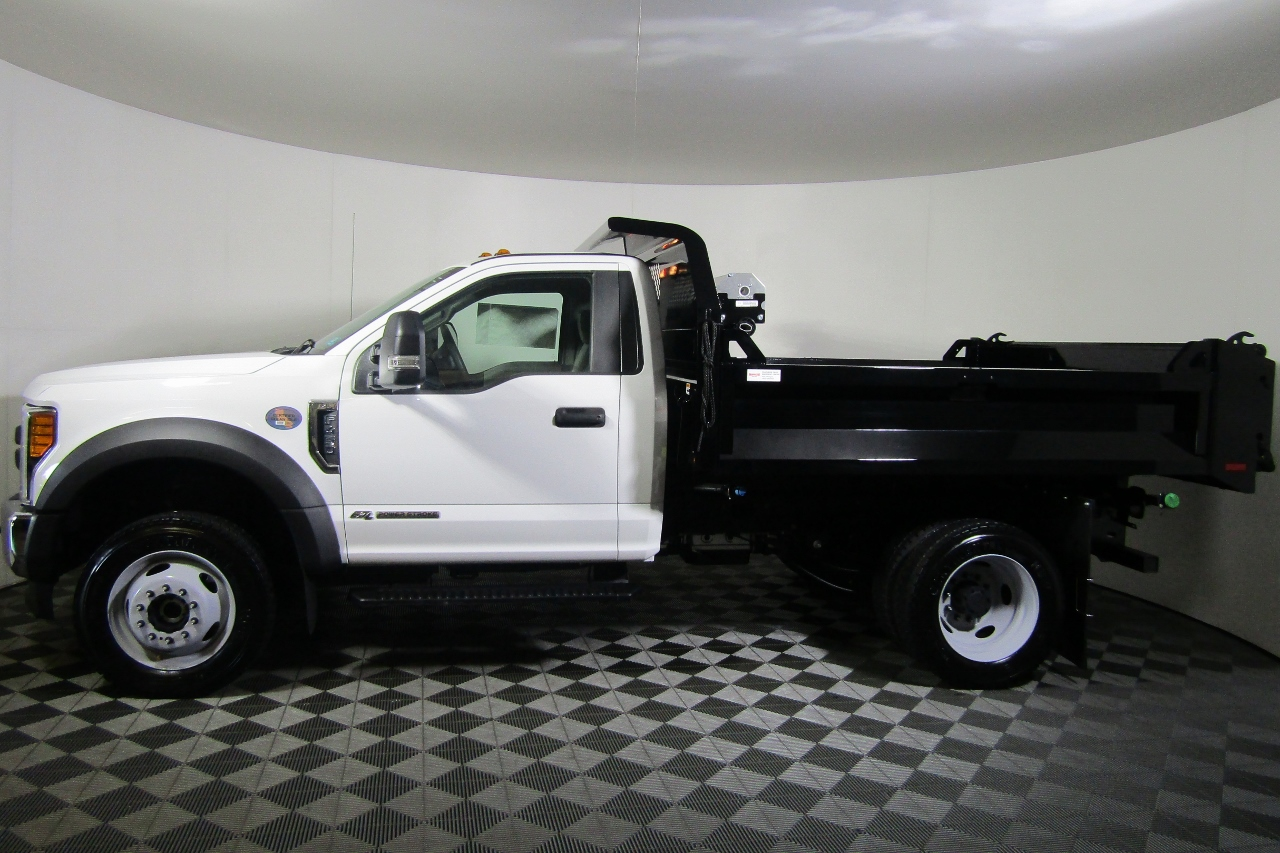 2017 F-450 Regular Cab DRW 4x4, Knapheide Dump Body #176043 - photo 4
