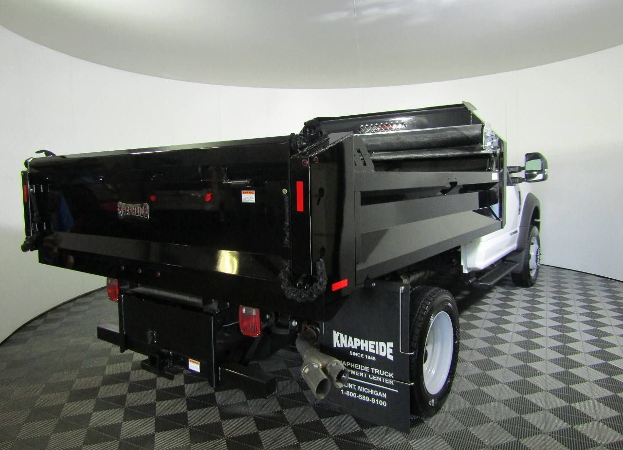 2017 F-450 Regular Cab DRW 4x4, Knapheide Dump Body #176043 - photo 8