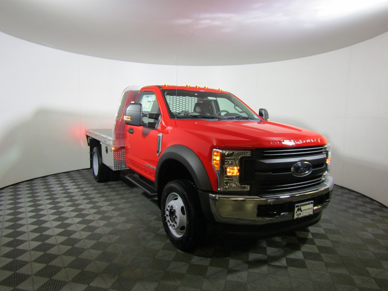 2017 F-550 Regular Cab DRW 4x4,  Knapheide Platform Body #176227 - photo 5