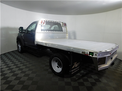 2017 F-550 Regular Cab DRW 4x4,  Knapheide Aluminum PGNB Gooseneck Platform Body #176288 - photo 2
