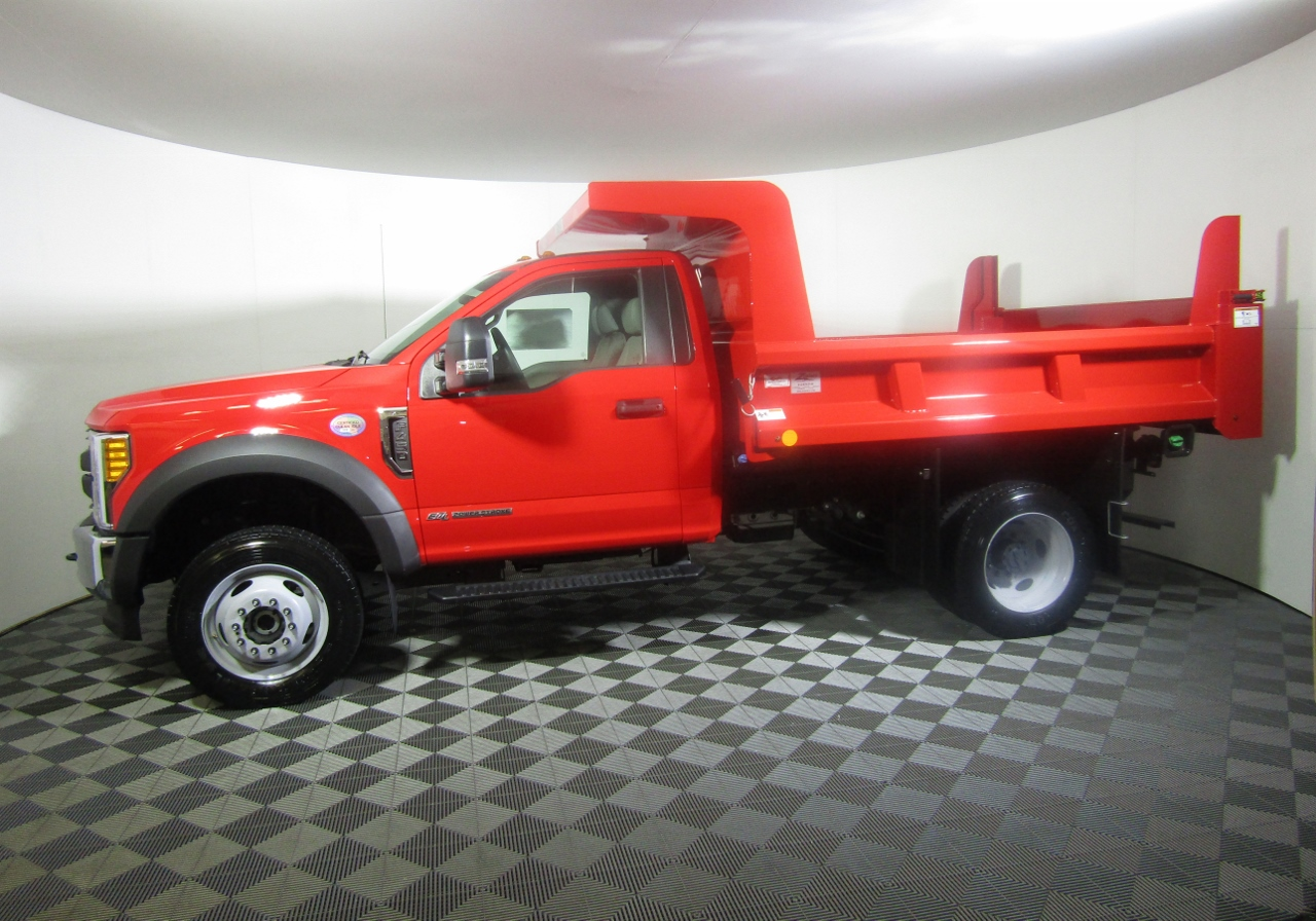 2017 F-450 Regular Cab DRW 4x4, Rugby Dump Body #176291 - photo 3