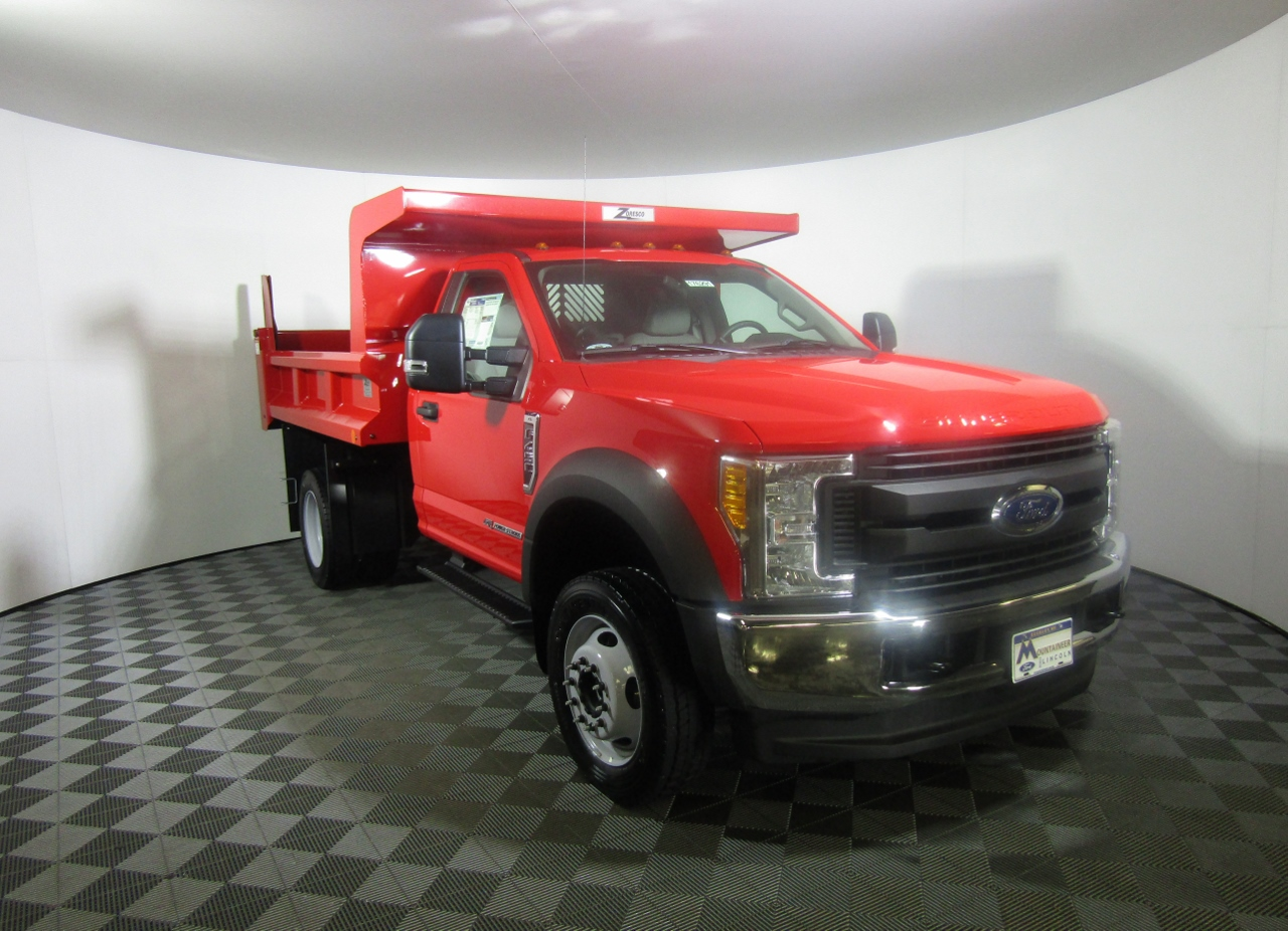 2017 F-450 Regular Cab DRW 4x4, Rugby Dump Body #176291 - photo 5