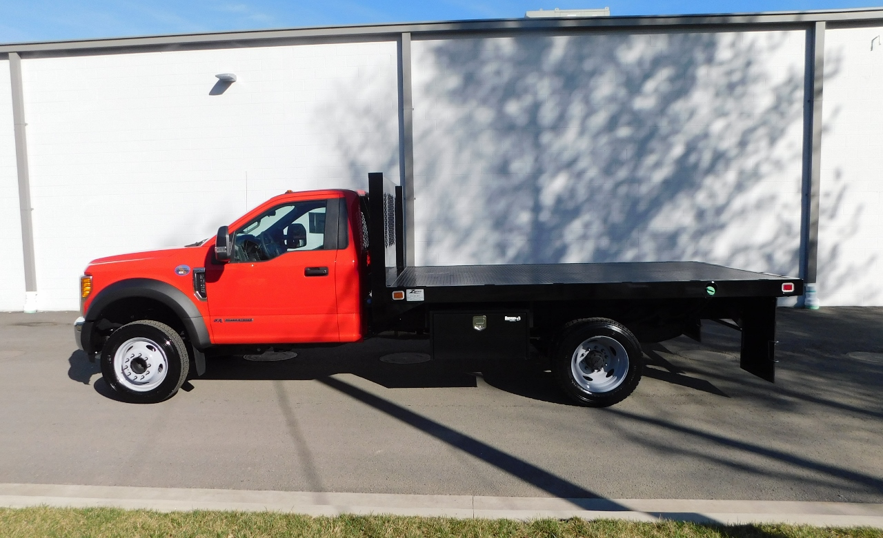 2017 F-550 Regular Cab DRW 4x2,  Knapheide Platform Body #176301 - photo 3