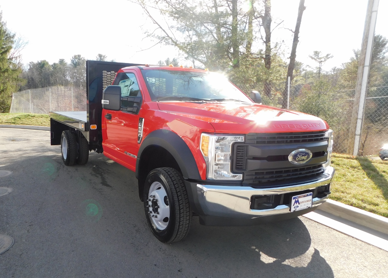 2017 F-550 Regular Cab DRW 4x2,  Knapheide Platform Body #176301 - photo 5