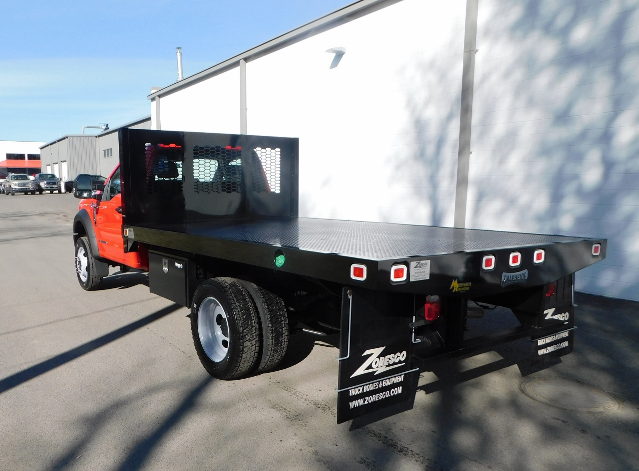 2017 F-550 Regular Cab DRW 4x2,  Knapheide Platform Body #176301 - photo 2