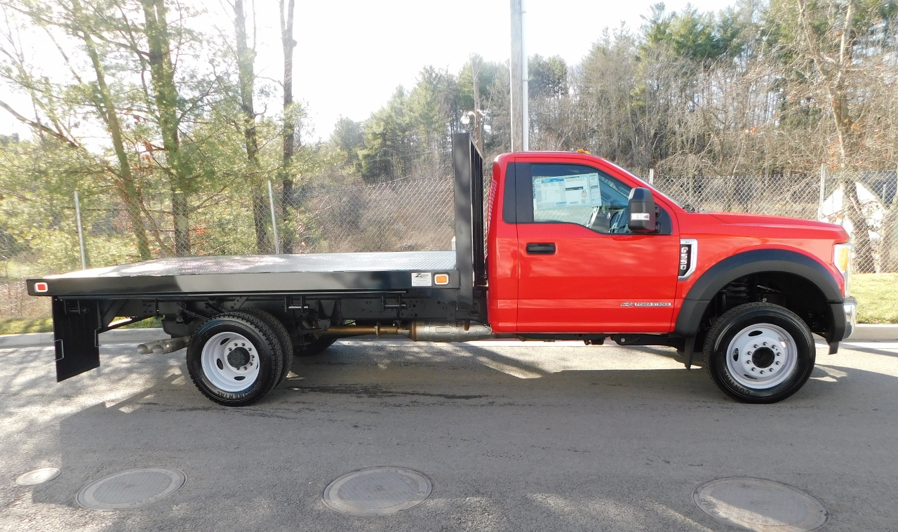 2017 F-550 Regular Cab DRW 4x2,  Knapheide Platform Body #176301 - photo 8