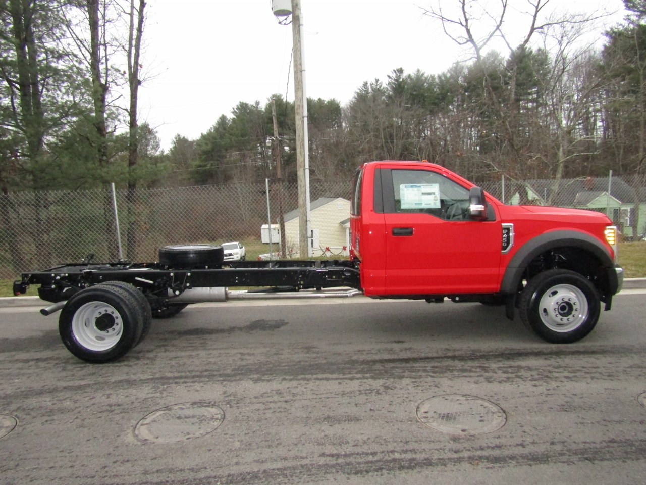 2018 F-450 Regular Cab DRW 4x4,  Cab Chassis #186578 - photo 8