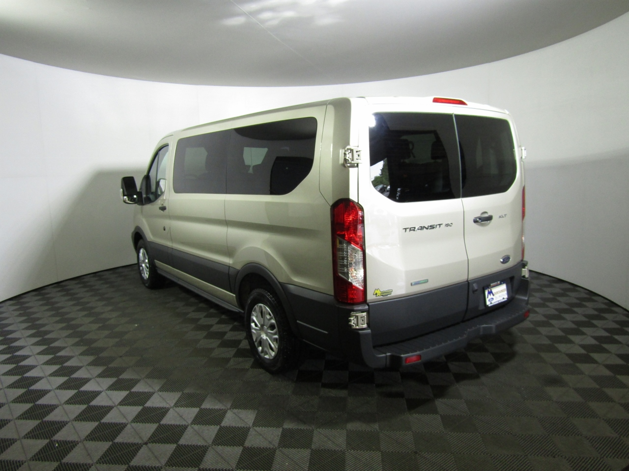2018 Transit 150 Low Roof 4x2,  Passenger Wagon #187314 - photo 2