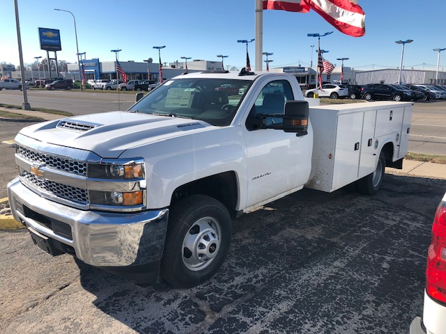 2019 Silverado 3500 Regular Cab DRW 4x2,  Knapheide Service Body #95672 - photo 3