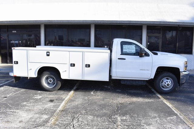 2019 Silverado 3500 Regular Cab DRW 4x2,  Knapheide Service Body #95672 - photo 8