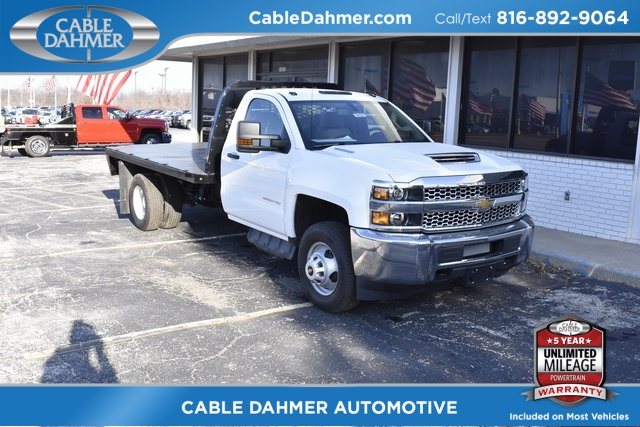 2019 Silverado 3500 Regular Cab DRW 4x2,  Knapheide Platform Body #95806 - photo 1