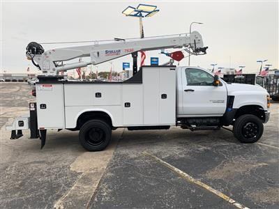 2019 Silverado 5500 Regular Cab DRW 4x4, Knapheide Crane Body #97532 - photo 5