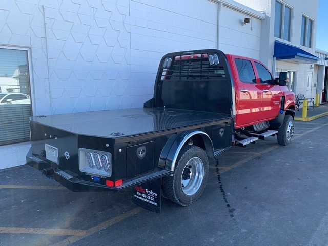 2020 Chevrolet Silverado 5500 Crew Cab DRW 4x4, CM Truck Beds Platform Body #98002 - photo 1