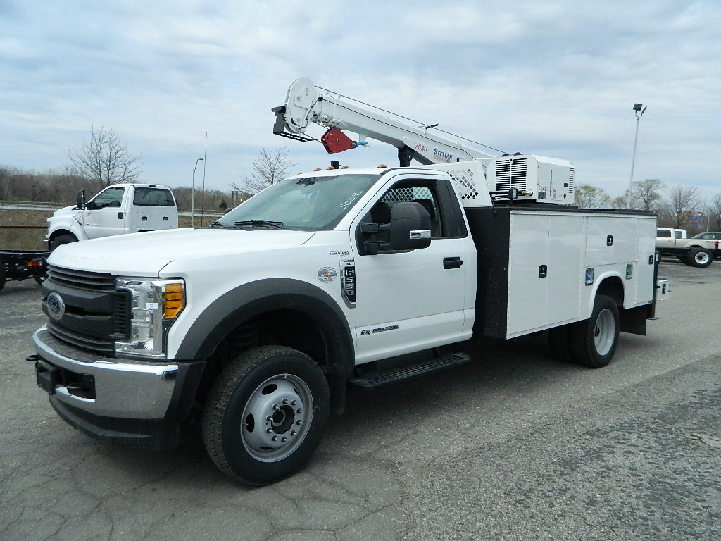 2017 F-550 Regular Cab DRW 4x4, Knapheide Service Body #393564 - photo 3